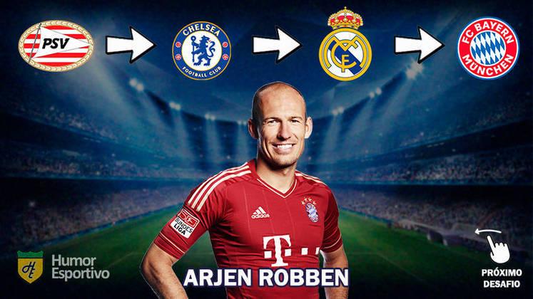Resposta: Arjen Robben