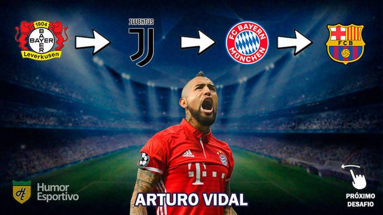 Resposta: Arturo Vidal
