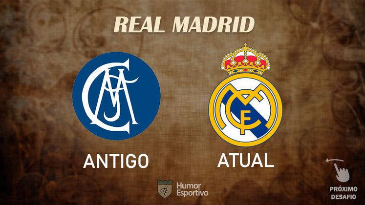 Resposta correta: Real Madrid. Tente acertar o próximo!