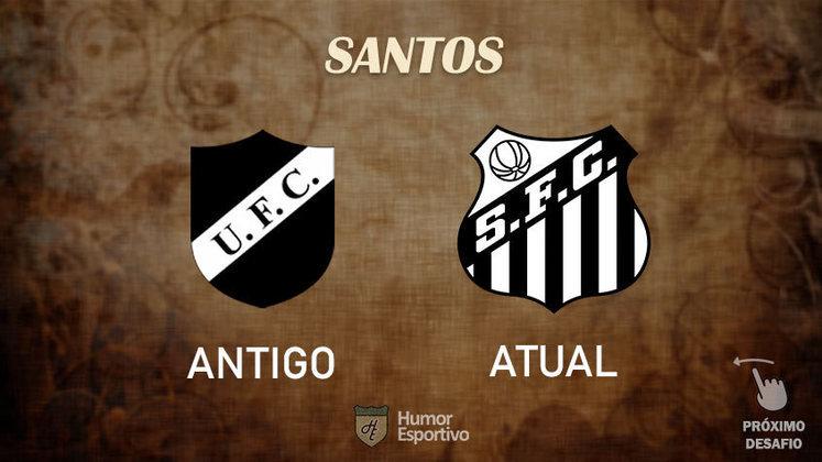 Resposta correta: Santos (em 1915 com o pseudônimo União FC). Tente acertar o próximo!