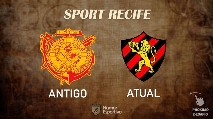 Resposta correta: Sport Recife. Tente acertar o próximo!