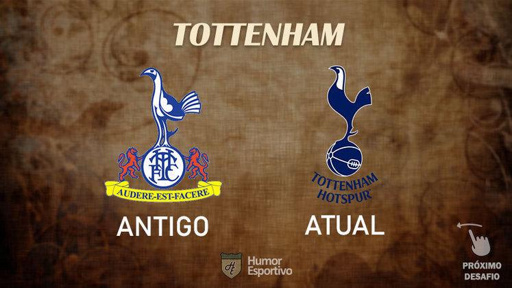 Resposta correta: Tottenham. Tente acertar o próximo!