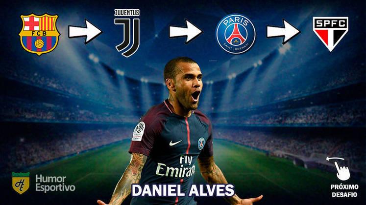 Resposta: Daniel Alves