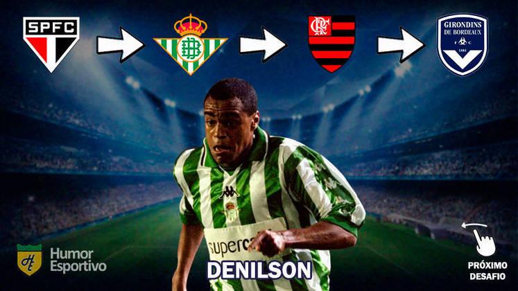 Resposta: Denilson (primeiros clubes da carreira)
