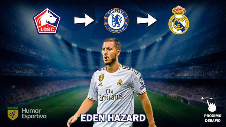 Resposta: Eden Hazard