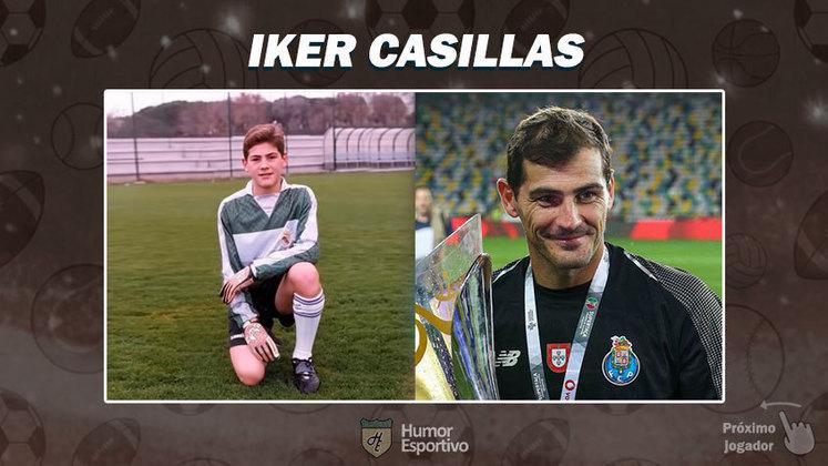 Resposta: Iker Casillas. Tente a próxima foto!