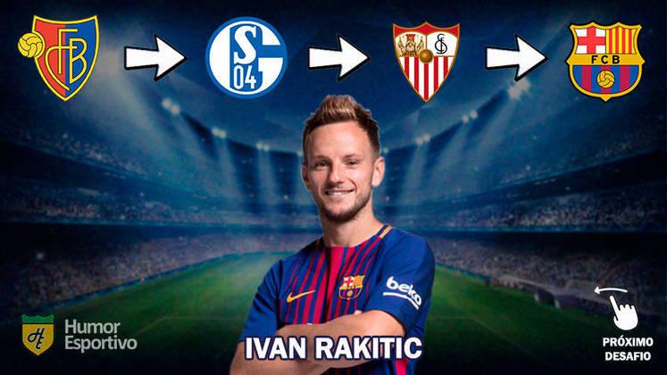 Resposta: Ivan Rakitic