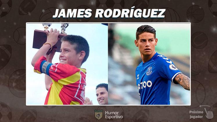 Resposta: James Rodríguez. Tente a próxima foto!