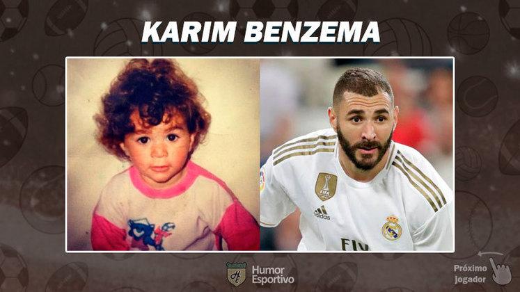 Resposta: Karim Benzema. Tente a próxima foto!