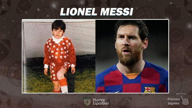 Resposta: Lionel Messi. Tente a próxima foto!
