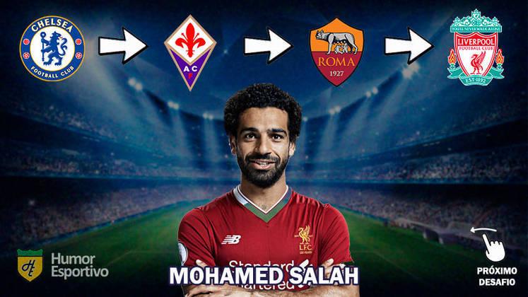 Resposta: Mohamed Salah