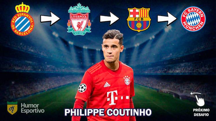 Resposta: Philippe Coutinho