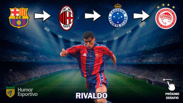Resposta: Rivaldo