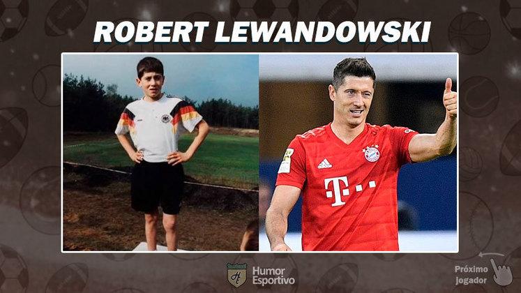 Resposta: Robert Lewandowski. Tente a próxima foto!