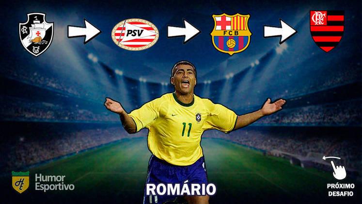 Resposta: Romário (no início de carreira)