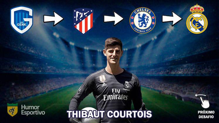Resposta: Thibaut Courtois