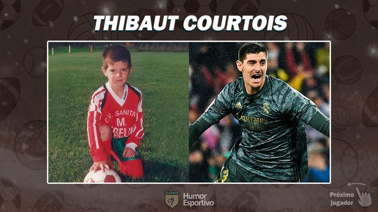 Resposta: Thibaut Courtois. Tente a próxima foto!