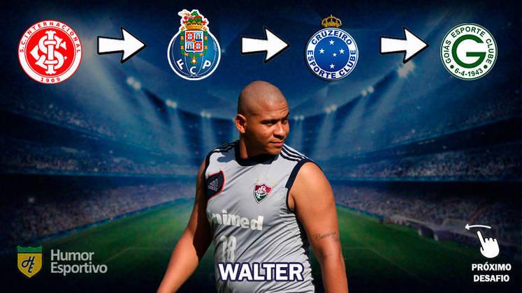 Resposta: Walter (primeiros clubes da carreira)
