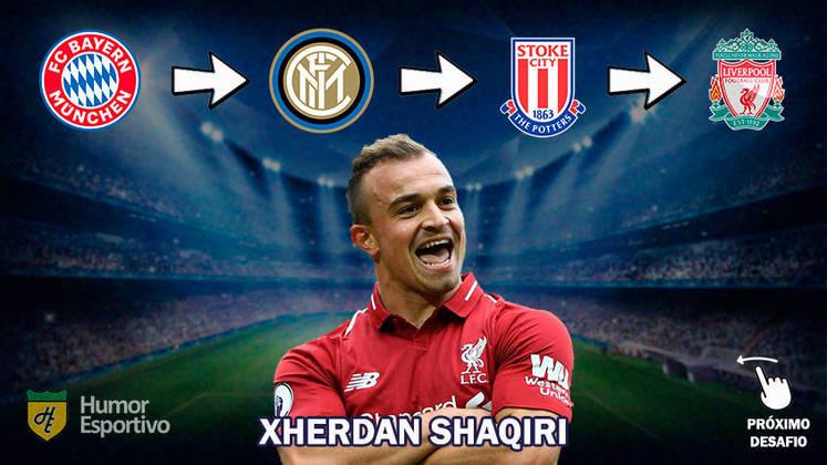 Resposta: Xherdan Shaqiri