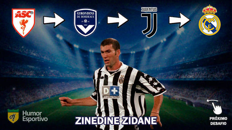 Resposta: Zinedine Zidane
