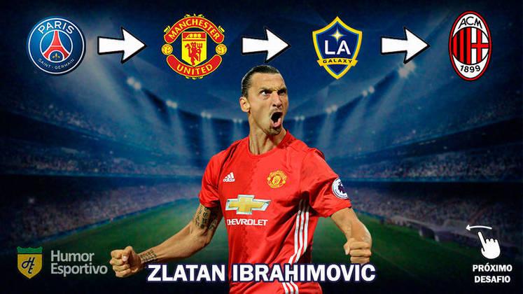 Resposta: Zlatan Ibrahimovic