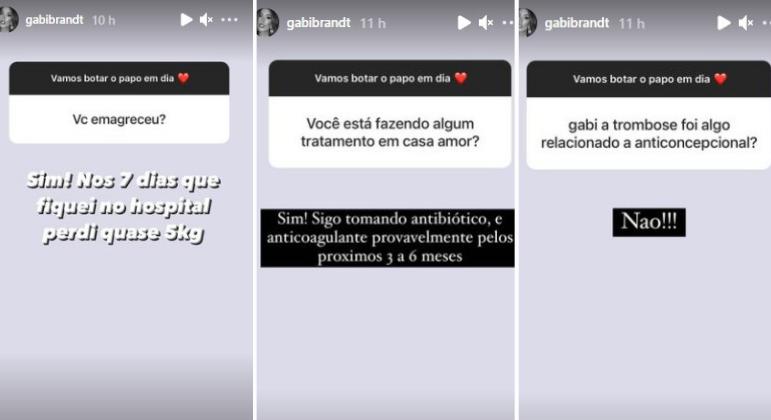 Respostas de Gabi Brandt