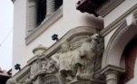 """""""É mais parecido com uma caricatura do que com a cabeça artística de um dos edifícios mais emblemáticos de Palência"""", escreveu o pintorAntonio Guzman"""