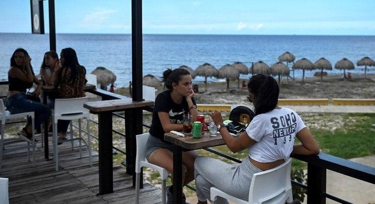 Cuba sofreu com ausência de turistas na ilha durante a pandemia do novo coronavírus