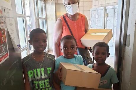 Famílias estão sendo ajudadas durante a pandemia