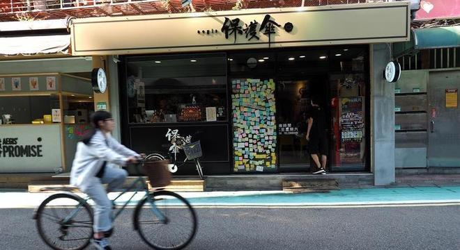 O restaurante Aegis, em Taiwan, foi criado para empregar dissidentes