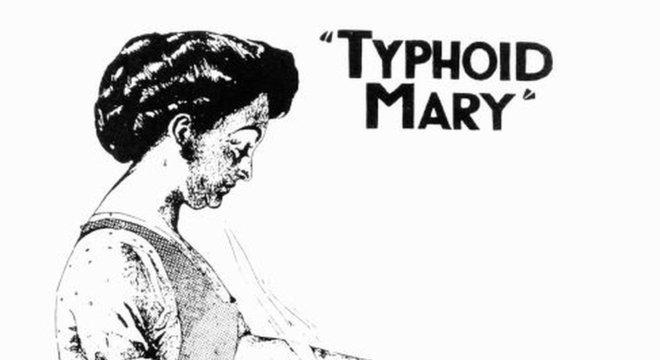 O caso de Mary Mallon (ou Maria Tifoide) ganhou notoriedade rapidamente nos meios de comunicação de Nova York