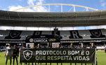 Mesmo com números altos de pessoas doentes, as competições estaduais voltaram. No Rio, o Flamengo foi o time que mais pressionou pela volta da competição. O que gerou o protesto dos atletas do Botafogo na partida contra o Bangu. Mas os protestos não deram certo e os estaduais foram retomados