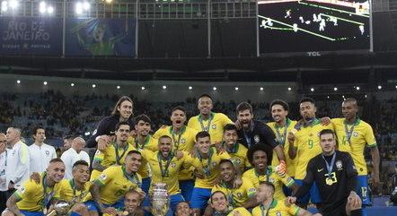 Brasil foi campeão da última edição