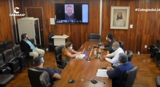 Proposta do projeto foi apresentada em sessão virtual ao Colégio de Líderes
