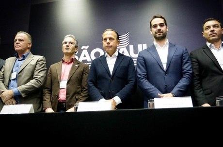 Governadores participam de reunião em São Paulo