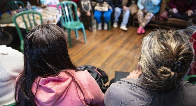 Prostitutas que trabalham no parque Jardim da Luz se reúniram para discutir o futuro do local