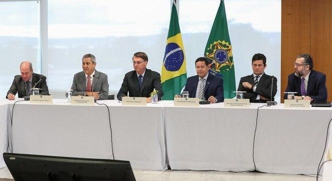 Vários ministros participaram da reunião que o STF requisitou a gravação