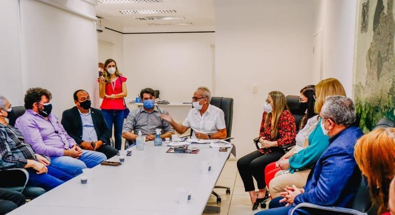 Reunião PMJP Vacina Educação