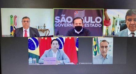 Reunião de governadores com embaixador da China