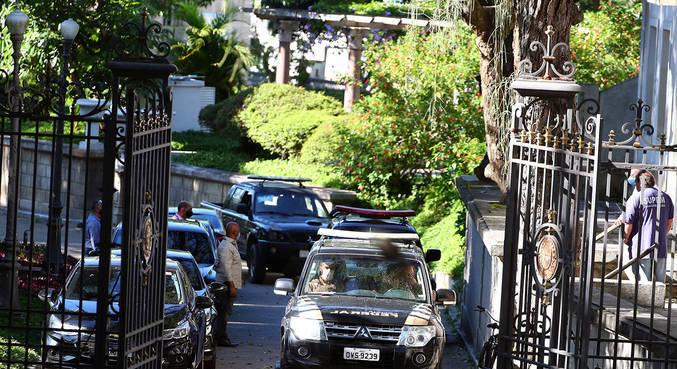 Operação da Polícia Federal em investigação contra o ex-governador do Rio Wilson Witzel
