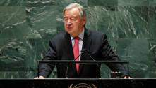Secretário-geral da ONU diz que mundo se move 'na direção errada'