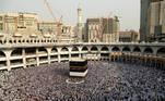 Muslim pilgrims circle the Kaaba at the Grand mosque during the annual Haj pilgrimage in Mecca, Saudi Arabia September 8, 2016. Picture taken September 8, 2016. REUTERS/Ahmed Jadallah