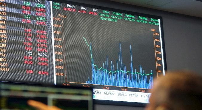 Bolsa de São Paulo abre o ano em alta positiva
