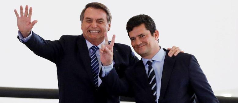 Bolsonaro e Moro enviaram tropas federais ao Ceará com prontidão