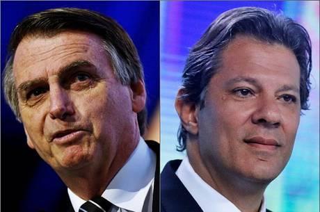 Bolsonaro e Haddad devem se enfrentar no 2º turno