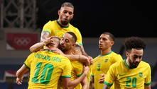Brasil enfrenta o México, algoz em Londres 2012, nas semis do futebol