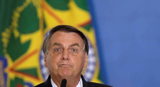O presidente Jair Bolsonaro, que anunciou a decisão de sediar o torneio