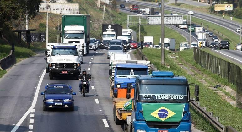 PM afirma que 18 manifestações em rodovias de São Paulo foram encerradas