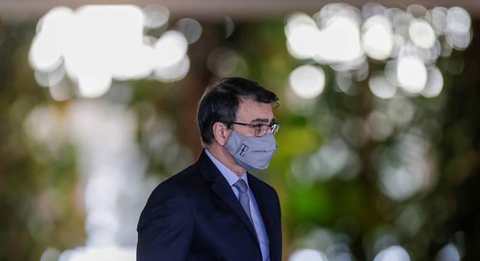 O ministro das Relações Exteriores do Brasil, Carlos França