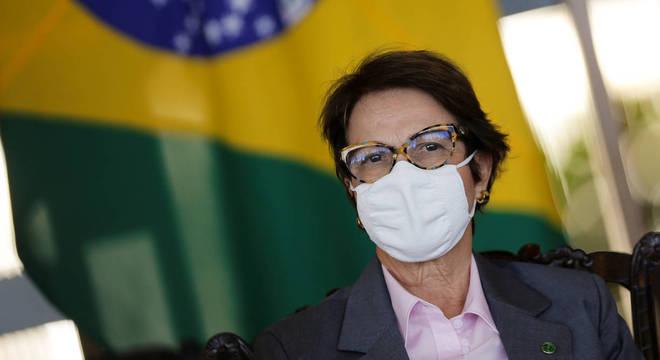 Na imagem, a ministra da Agricultura, Tereza Cristina